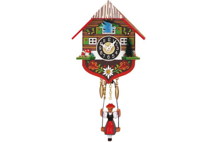 Orologio a Cucu' con bambola oscillante