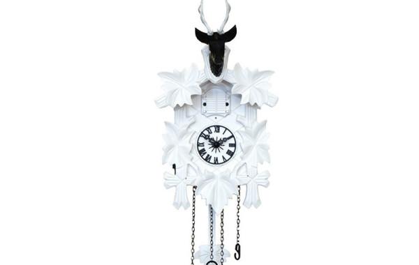 Orologio a Cucu' bianco e nero