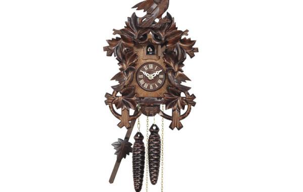 Orologio a Cucu' intagliato a mano