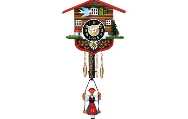 Orologio a Cucu' meccanico oscillante