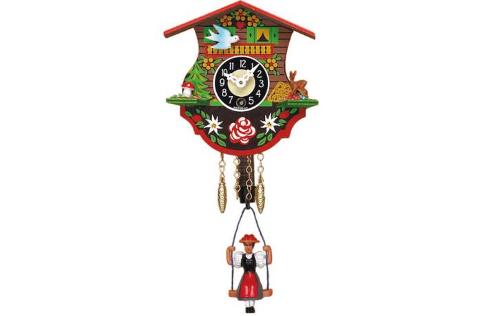 Orologio a Cucu' Moderno con bambola sull'altalena