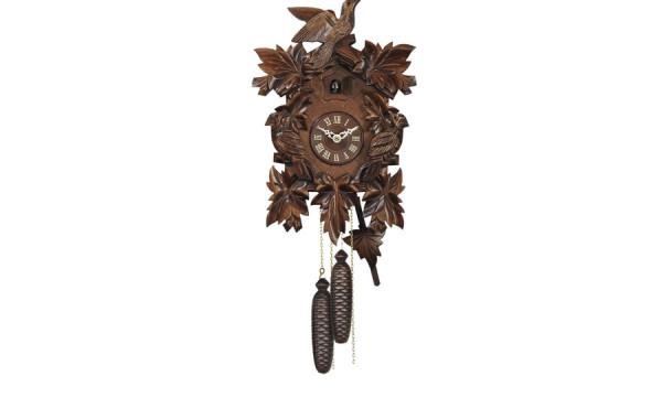 Orologio Cucu' scultura artigianale con uccelli